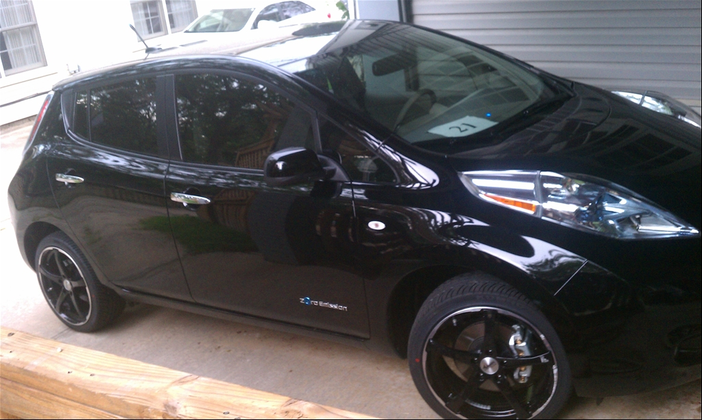 nissan leaf wheels, tires – electric vehicle wiki