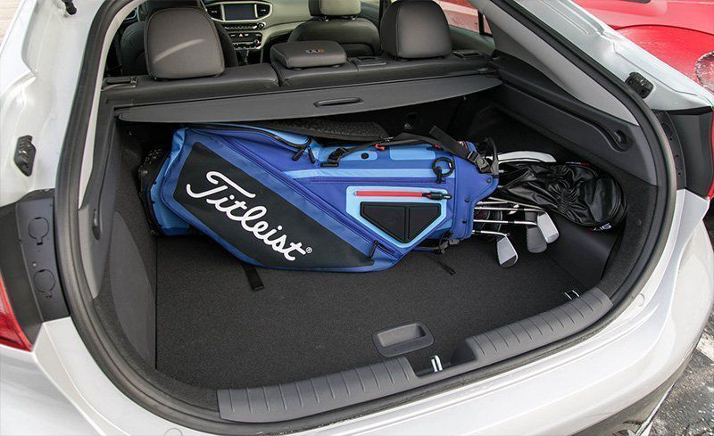 2018 Hyundai Ioniq Hybrid Limited Trunk E