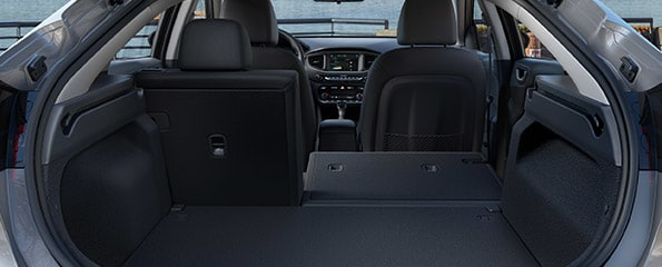 Hyundai IONIQ Cargo Space and Trunk Configurations – Electric