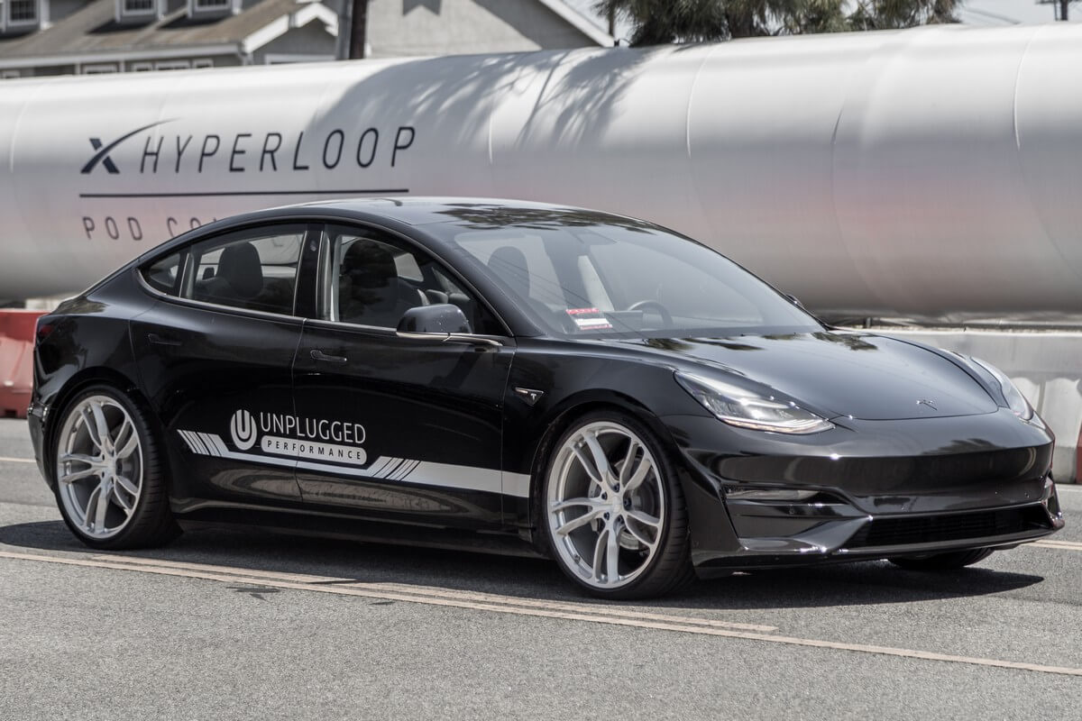 Unplugged Performance Lightweight Forged Wheels for Tesla