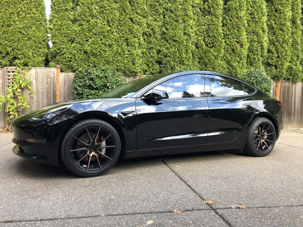 Tesla Model 3 Aftermarket Wheels - Electric Vehicle Wiki